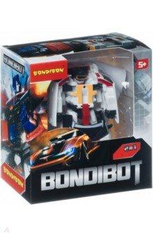 Купить Трансформер 2 в 1 BONDIBOT Робот-минивэн (888-7), Bondibon, Роботы и трансформеры