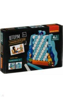 Купить Игра развивающая Игра-баланс «Шторм» (ВВ4180), Bondibon, Строим башню