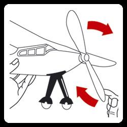 Иллюстрация 1 из 3 для 1601 Самолет с резиномотором Viper (25х22см) | Лабиринт - книги. Источник: Лабиринт