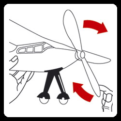Иллюстрация 1 из 3 для 1619 Самолет с резиномотором JU-52 (40х35см) | Лабиринт - книги. Источник: Лабиринт