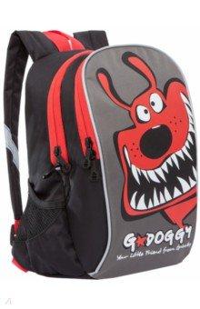 Рюкзак детский (черный - красный) RK-079-3.