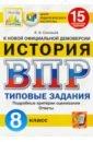 Обложка ВПР ЦПМ Исторя 8кл. 15 вариантов. ТЗ