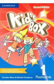 Купить Kid's Box. Level 1. Flashcards (Pack of 96), Cambridge, Обучающие карточки