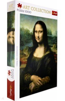 Купить Trefl. Puzzle-1000 Мона Лиза (10542), Пазлы (1000 элементов)