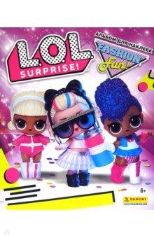 Купить Альбом для наклеек LOL Surprise 3 , Panini, Альбомы с наклейками