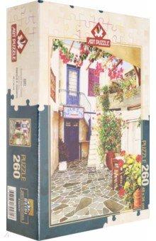 Купить Пазл 260 деталей Двор с цветами (4581), Art Puzzle, Пазлы (200-360 элементов)
