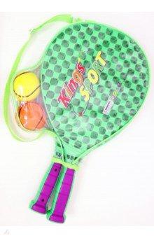 Набор для тенниса (пластмассовые ракетки, 2 мяча)