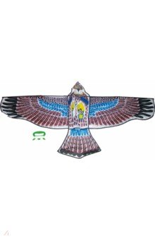 Воздушный змей Орел большой, катушка (леер 50 м)