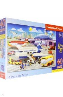 Купить Puzzle-40 MAXI. В аэропорту (В-040223), Castorland, Пазлы (12-50 элементов)