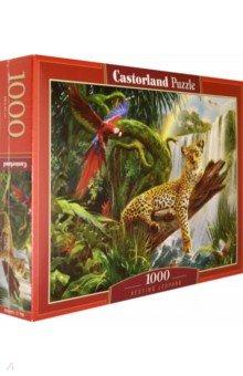 Купить Puzzle-1000. Леопард (C-104093), Castorland, Пазлы (1000 элементов)