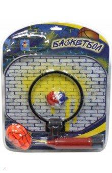 Купить Баскетбольный щит, мяч, насос, блистер, 1TOY, Игры для активного отдыха