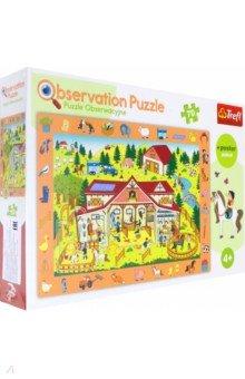 Купить Trefl. Puzzle-70. Экскурсия на ферму (15535), Пазлы (54-90 элементов)