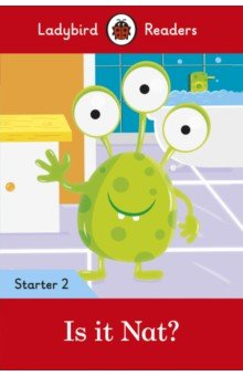 Купить Is it Nat? Level 2, Ladybird, Художественная литература для детей на англ.яз.