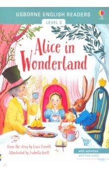 Купить Alice in Wonderland, Usborne, Художественная литература для детей на англ.яз.