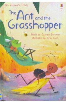 Купить The Ant and the Grasshopper, Usborne, Первые книги малыша на английском языке