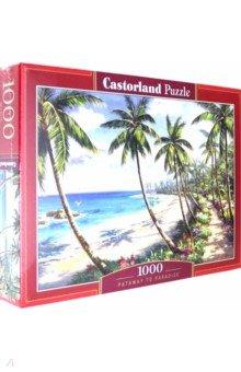 Купить Puzzle-1000. Райское побережье (C-104666), Castorland, Пазлы (1000 элементов)