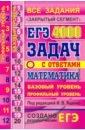 Обложка ЕГЭ 21 Математика 4000 задач. Базовый и проф. Закр