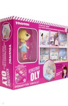 Игровой набор «Мебель-Спальня» и куколка (ВВ4492)