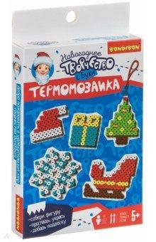Купить Новогодняя Термомозаика 2D с БУКИ (ВВ4524), Bondibon, Мозаика