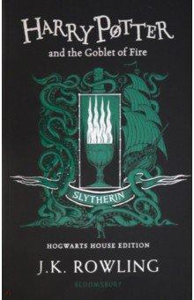 Купить Harry Potter and the Goblet of Fire Slytherin, Bloomsbury, Художественная литература для детей на англ.яз.