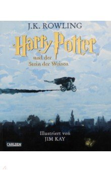 Купить Harry Potter und der Stein der Weisen (farbig ill), Bonnier Media Mix, Литература на немецком языке для детей