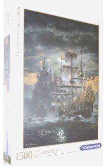Купить Пазл-1500 Пиратский корабль (31682), Clementoni, Пазлы (1500 элементов)