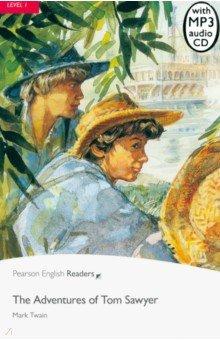 Купить The Adventures of Tom Sawyer (+CD), Pearson, Художественная литература для детей на англ.яз.