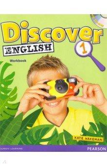 Купить Discover English. Level 1. Workbook (+CD), Pearson, Изучение иностранного языка