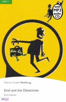 Купить Emil and the Detectives (+CD), Pearson, Художественная литература для детей на англ.яз.
