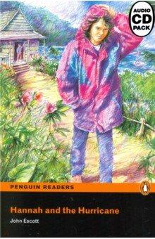 Купить Hannah and the Hurricane (+CD), Pearson, Художественная литература для детей на англ.яз.