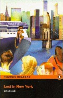 Купить Lost in New York, Pearson, Художественная литература для детей на англ.яз.