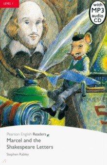 Купить Marcel and the Shakespeare Letters (+CD), Pearson, Художественная литература для детей на англ.яз.