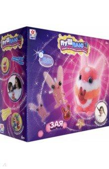 Купить Набор для творчества ПУШ-ПЛЮШ. Зая (Т19001), 1TOY, Изготовление мягкой игрушки
