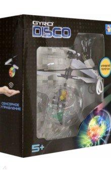 Купить Gyro-Disco, шар на сенсорном управлении, со светом, диаметр 4, 5 см, коробка (Т10794), 1TOY, Радиоуправляемые модели