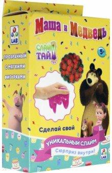 Купить Слайм тайм Набор Маша и Медведь (Т16609), 1TOY, Слаймы