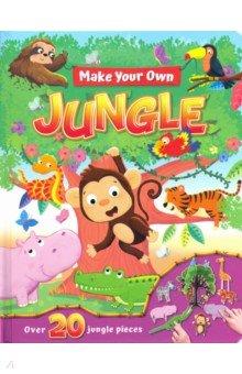 Купить Make Your Own. Jungle, Igloo Books, Первые книги малыша на английском языке