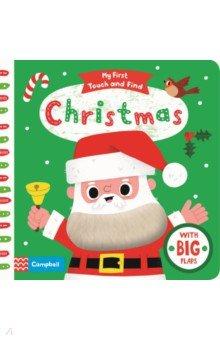 Купить My First Touch and Find. Christmas, Mac Children Books, Первые книги малыша на английском языке