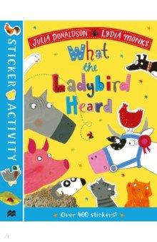 Купить The What the Ladybird Heard Sticker Book, Mac Children Books, Книги для детского досуга на английском языке