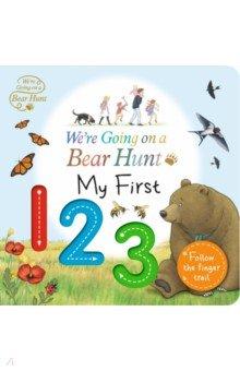 Купить We're Going on a Bear Hunt. My First 123, Walker Books, Первые книги малыша на английском языке