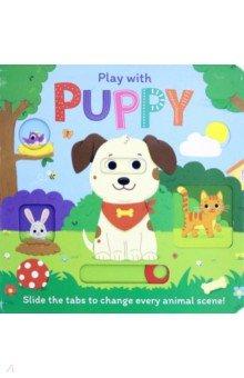 Купить Play with Puppy, Igloo Books, Первые книги малыша на английском языке