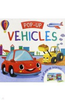 Купить Pop-up. Vehicles, Igloo Books, Первые книги малыша на английском языке
