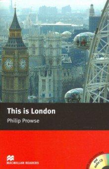 Купить This is London (+CD), Macmillan, Художественная литература для детей на англ.яз.