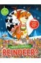 Обложка Where's Santa's Reindeer? A Festive Search Book
