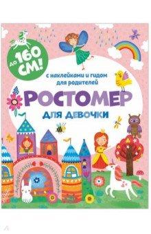 Купить Ростомер для девочки 160*16см (книжка-гармошка) (50833), Феникс+, Ростомеры