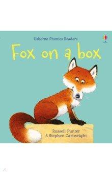Купить Fox on a Box, Usborne, Первые книги малыша на английском языке