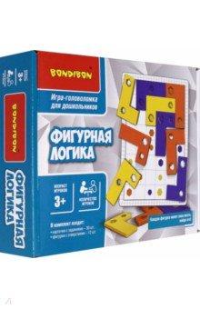 Купить Игра логическая для дошкольников «Фигурная логика» (ВВ4896), Bondibon, Обучающие игры