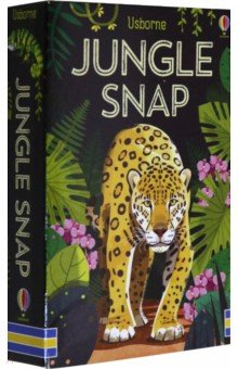 Купить Jungle snap, Usborne, Книги для детского досуга на английском языке