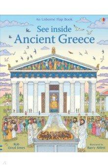Купить See inside Ancient Greece, Usborne, Первые книги малыша на английском языке