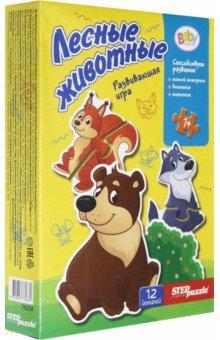 Купить Игра-малышка Лесные животные (76238), Степ Пазл, Обучающие игры