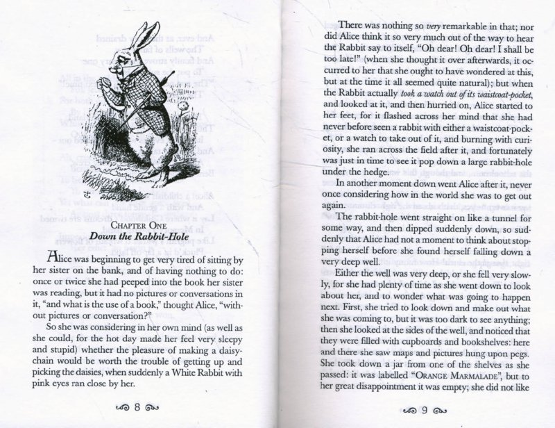 Иллюстрация 1 из 23 для Alice in Wonderland and Through the Looking-Glass - Lewis Carroll | Лабиринт - книги. Источник: Лабиринт